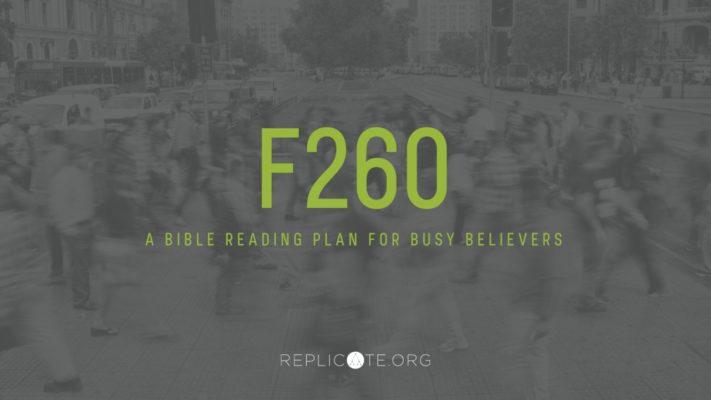 f260 bible reading plan